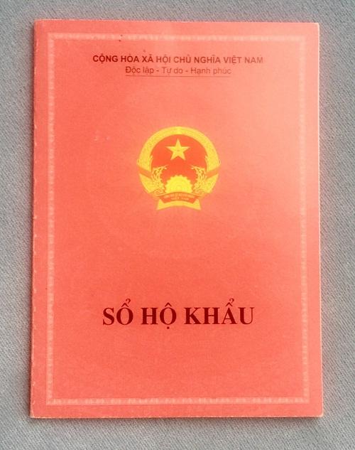 Bản dịch Sổ hộ khẩu tiếng Anh