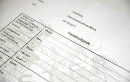 Bản dịch Giấy Chứng nhận Kết hôn tiếng Đức